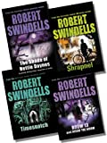 Robert Swindells Collection - 4 Books RRP £24.96 (Room 13 And Inside The Worm; Shrapnel; The Shade of Hettie Daynes; Timesnatch) Robert Swindells