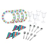 My First Kenmore 20 Piece Dinnerware Set By Playgo Plates Play Girls Toys Kitchen 4 Sets Of Tin Plate, Spoons,...