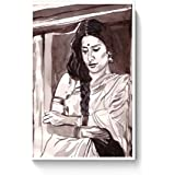 PosterGuy Tabu Bollywood Painting Bollywood, Famous Celebrities, Paintings, Bollywood Sketch, Bollywood Paintings...