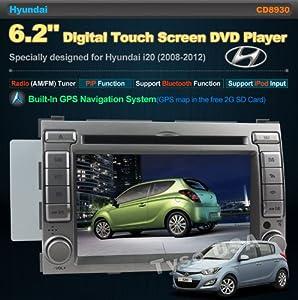 For Hyundai i20 (Year 2008 2009 2010 2011 2012) 6 2 Digital Touch