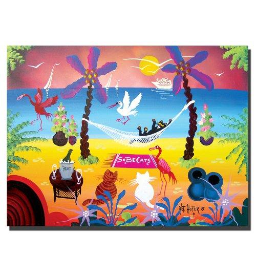 trademark-fine-art-sobe-cats-by-herbert-hofer-canvas-wall-art-24x32-inch