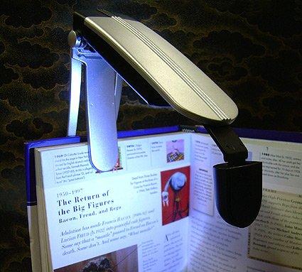Folding Clip On LED Book Light