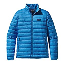 Patagonia Down Sweater Jacket - Men\'s Electron Blue, L