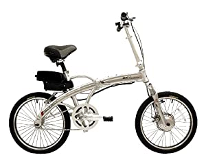 Prodeco G+ Mariner Folding Electric Bike-Lithium Powered, 16+mph, 25 Mile Range, 2 Year Warranty, Built in the USA!