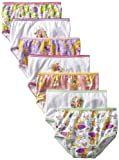 Disney Girls 2-6X 7 Pack Tangled Toddler Underwear