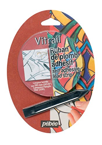 Pebeo Vitrail Stained Glass Effect Self Adhesive Lead