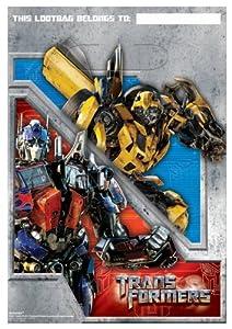 Transformers 8 Stk Geburtstagsbeutel - Partybeutel