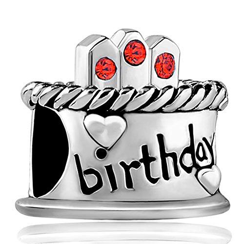 january-birthstone-birthday-cake-red-candles-gift-holiday-jewelry-beads-fits-pandora-charm-bracelet