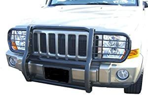 Ford Ranger Ford Ranger One Piece Grill/Brush Guard Black Grille Guards & Bull Bars Stainless Products Performance