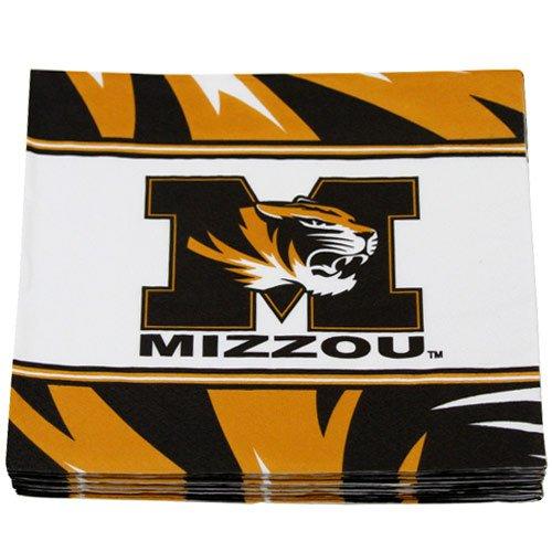 NCAA Missouri Tigers 16-Count Luncheon Napkins - 1