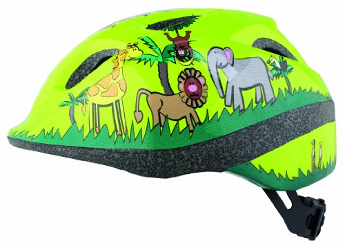 Bumper Kids Jungle Helmets - Green, 46-53cm