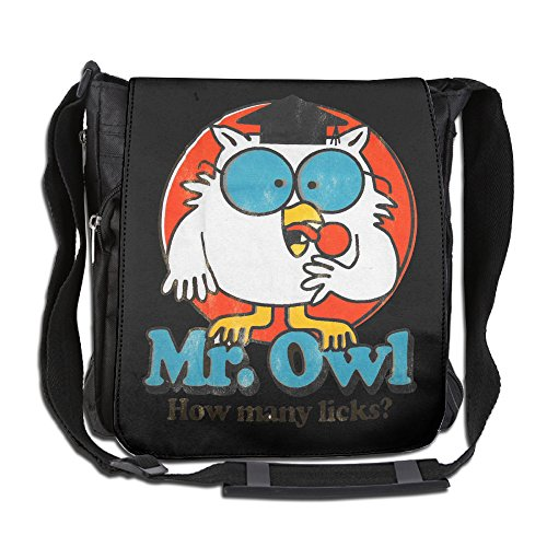 LALFOUNEE Casual Mr. Owl Men's & Women's Multifunctional Crossbody Bags Shoulder Bag For Everyday (Tootsie Roll Owl Costume)