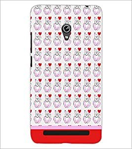 PrintDhaba Money Pattern D-1930 Back Case Cover for ASUS ZENFONE 6 A601CG (Multi-Coloured)