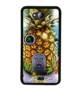 Vizagbeats Submarine in Pineapple Shape Back Case Cover for MICROMAX CANVAS PLAY Q355