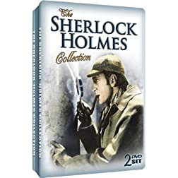 The Sherlock Holmes Collection - Embossed Slim Tin Packaging
