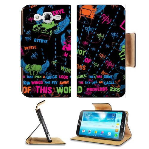 Not Of This World Proverb 23:5 Samsung Galaxy Mega 5.8 I9150 Flip Case Stand Magnetic Cover Open Ports Customized Made To Order Support Ready Premium Deluxe Pu Leather 6 1/2 Inch (165Mm) X 3 2/5 Inch (87Mm) X 9/16 Inch (14Mm) Msd Mega Cover Professional M
