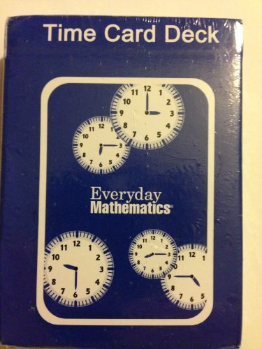 Everyday Mathematics - Time Card Deck