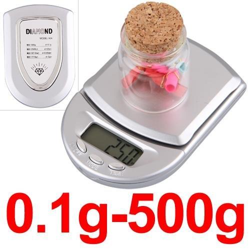 COLEMETER® BALANCE DE POCHE ELECTRONIQUE NUMERIQUE 0.1-500g POUR CUISINE [Cuisine]