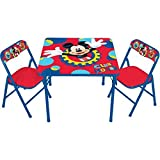 New Disney Mickey Mouse Activity Table and Chair Set