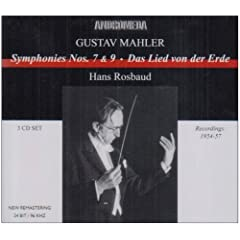 Mahler: Symphonies 7 & 9/Das L [UK-Import]