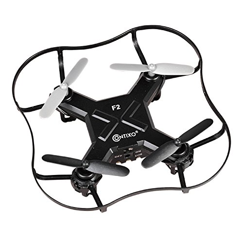 HalloweenContixo-Kids-Drone-F2-Metallic-Red-Rc-Quadcopter-Mini-Drone-4-Channel-Drone-RC-24ghz-6-Axis-Gyro-RC-Quadcopter-With-HD-Camera