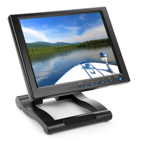 Lilliput Fa1042-Np/C/T Touchscreen 10.4 Inch 4:3 Desktop/Wallmount Lcd Vga Monitor