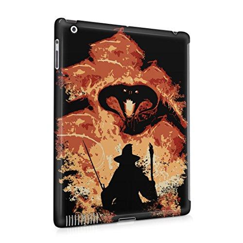Lord Of The Rings Balrog Cs Gandalf Apple iPad 2 / iPad 3 / iPad 4 Hard Plastic Case Cover