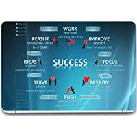 TrendsMate Laptop Skin - Mantra For Success On 3M Vinyl And Lamination