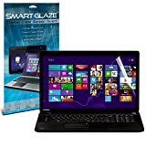 Smart Glaze® Crystal Clear Premium LCD Screen Protectors Packs With Polishing Cloth & Application Card For 17.3