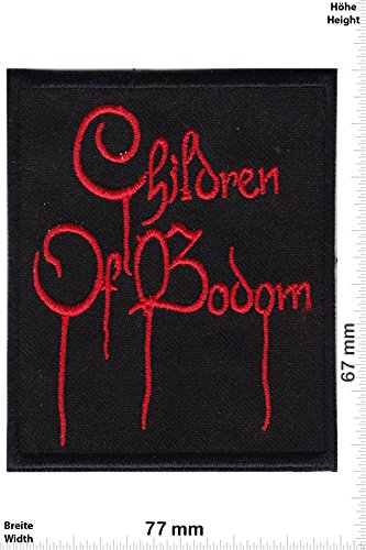 Patch - Children of Bodom -Melodic-Death-Metal-Band - Musicpatch - Rock - Vest - Iron on Patch - toppa - applicazione - Ricamato termo-adesivo - Give Away