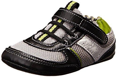 Robeez Maverick Sneaker (Infant/Toddler), Lime, 9-12 Months M Us Toddler front-1077714
