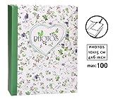 Field of Flowers Einsteckalbum für 100 Fotos in 10x15 cm
