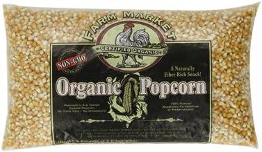 Great Northern Popcorn, Organic, 5 Pound