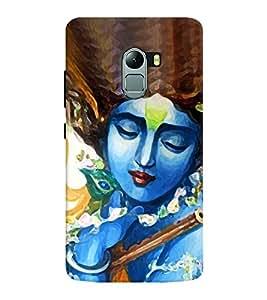 Chiraiyaa Designer Printed Premium Back Cover Case for Lenovo K4 Note (Krishna flute) (Multicolor)