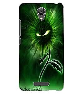 ColourCraft Flaming Eyes Flower Design Back Case Cover for XIAOMI REDMI NOTE 2 PRIME