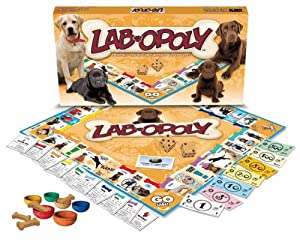 LAB-OPOLY (Monopoly Style Game for Labradors & their humans!)
