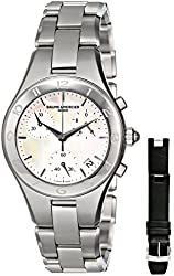 "Baume & Mercier Women's MOA10012 ""Linea"" Stainless Steel Watch"
