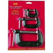 Do it Best Global Sourcing 308749 Do it C -Clamp Set-3PC C-CLAMP SET