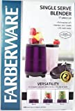 Single Serve Blender- 17 Piece Set- Purple