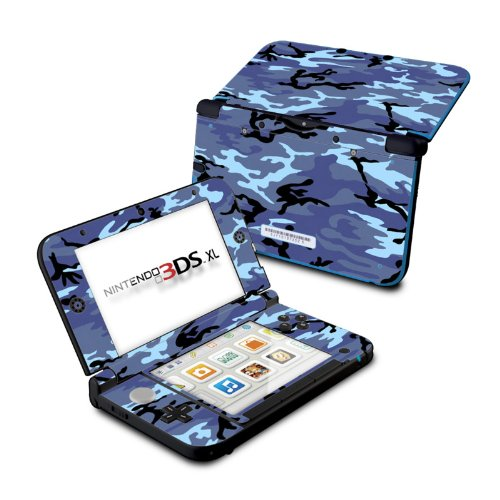Sky Camo Design Protective Decal Skin Sticker for Nintendo 3DS XL (2014) call of the wild design protective decal skin sticker for nintendo 3ds xl 2014