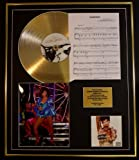 RIHANNA/CD GOLD DISC, SONG SHEET & PHOTO DISPLAY/LTD. EDITION/COA/ALBUM, UNAPOLOGETIC /SONG SHEET, DIAMONDS