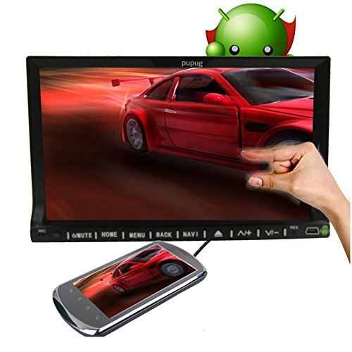 Double2 Din (7 Zoll), WLAN, Android 4.2, Fast core 2-Car DVD-Player GPS Navigation Capactive touchscreen Bluetooth Kfz-Radio/Internet-FM Ipod