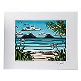 Heather Brown ヘザーブラウン アートプリントカイルアウィークエンド HB9066P ハワイ 絵画 インテリア