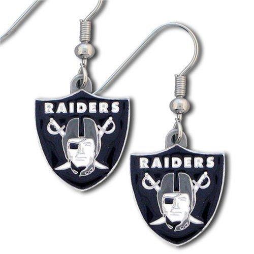 NFL Oakland Raiders Dangle Earrings