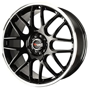 "Drag DR-34 Gloss Black Wheel with Machined Lip (16x7""/5x108mm)"