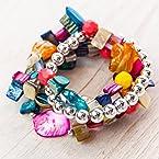 Multi-Colored Stretch Bracelet Set
