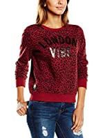 Pepe Jeans London Sudadera Irene (Granate)