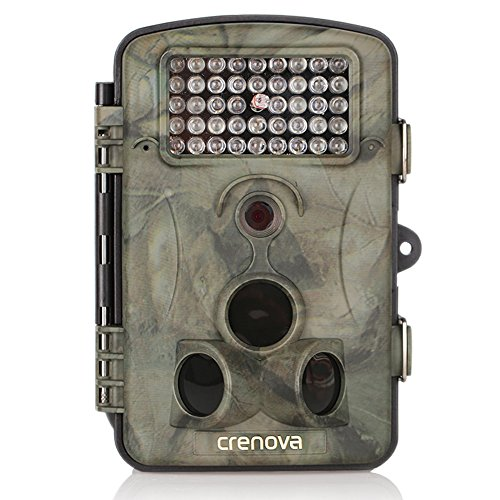 Crenova-Game-and-Trail-Hunting-Camera-12MP-1080P-HD-With-Time-Lapse-65ft-120-Wide-Angle-Infrared-Night-Vision-42pcs-IR-LEDs-24-LCD-Screen-Scouting-Camera-Digital-Surveillance-Camera