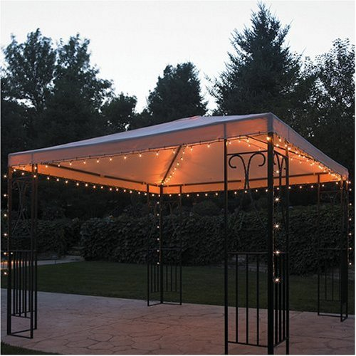 Outdoor String Lights For Gazebo : NEW 140 Lights Gazebo Fairy String Lights Romantic Garden Outdoors Canopy Patio eBay