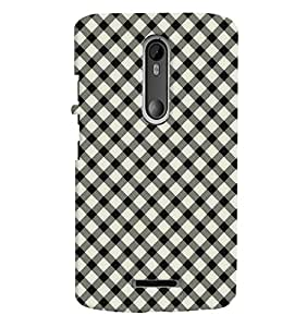 Fuson Premium Dotted Patterns Printed Hard Plastic Back Case Cover for Motorola Moto X (3rd Gen)